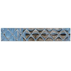 Mirrored Glass Tile Urban Industrial Flano Scarf (Large)