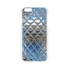 Mirrored Glass Tile Urban Industrial Apple Seamless iPhone 6/6S Case (Transparent)