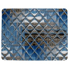 Mirrored Glass Tile Urban Industrial Jigsaw Puzzle Photo Stand (Rectangular)