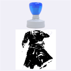 Assassins Creed Black Flag Tshirt Rubber Round Stamps (Large)