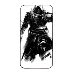 Assassins Creed Black Flag Tshirt Apple iPhone 4/4s Seamless Case (Black)