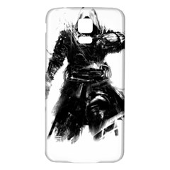 Assassins Creed Black Flag Tshirt Samsung Galaxy S5 Back Case (White)