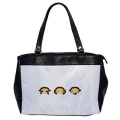Three Wise Monkeys Office Handbags