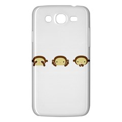 Three Wise Monkeys Samsung Galaxy Mega 5.8 I9152 Hardshell Case