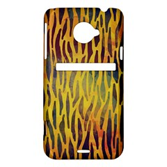 Colored Tiger Texture Background HTC Evo 4G LTE Hardshell Case