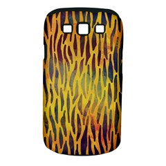 Colored Tiger Texture Background Samsung Galaxy S III Classic Hardshell Case (PC+Silicone)