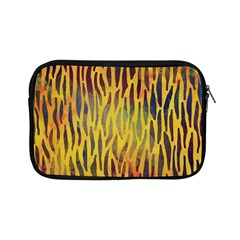 Colored Tiger Texture Background Apple iPad Mini Zipper Cases