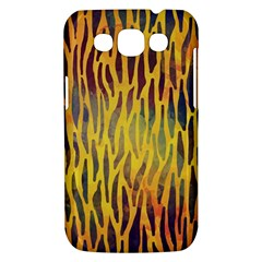 Colored Tiger Texture Background Samsung Galaxy Win I8550 Hardshell Case
