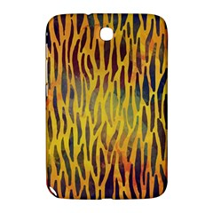 Colored Tiger Texture Background Samsung Galaxy Note 8.0 N5100 Hardshell Case