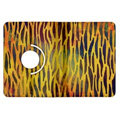 Colored Tiger Texture Background Kindle Fire HDX Flip 360 Case