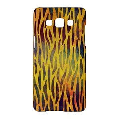 Colored Tiger Texture Background Samsung Galaxy A5 Hardshell Case