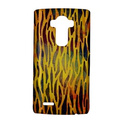 Colored Tiger Texture Background LG G4 Hardshell Case