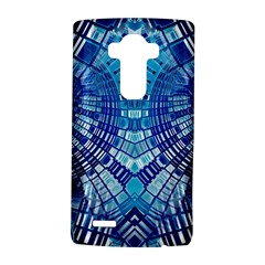 Blue Mirror Abstract Geometric LG G4 Hardshell Case