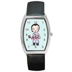 Plushie Bateman Barrel Style Metal Watch