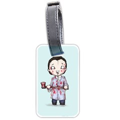Plushie Bateman Luggage Tags (One Side)