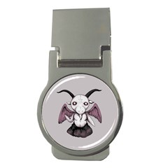 Plushie Baphomet Money Clips (Round)