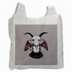 Plushie Baphomet Recycle Bag (One Side)