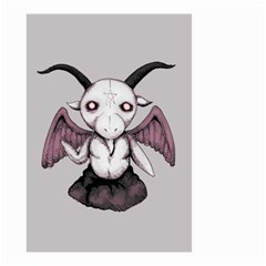Plushie Baphomet Small Garden Flag (Two Sides)