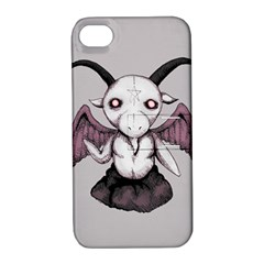 Plushie Baphomet Apple iPhone 4/4S Hardshell Case with Stand