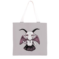 Plushie Baphomet Grocery Light Tote Bag