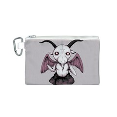 Plushie Baphomet Canvas Cosmetic Bag (S)