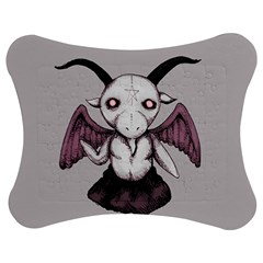 Plushie Baphomet Jigsaw Puzzle Photo Stand (Bow)