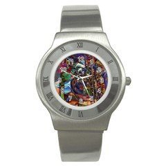 Las Vegas Nevada Ghosts Stainless Steel Watch
