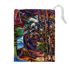 Las Vegas Nevada Ghosts Drawstring Pouches (extra Large)