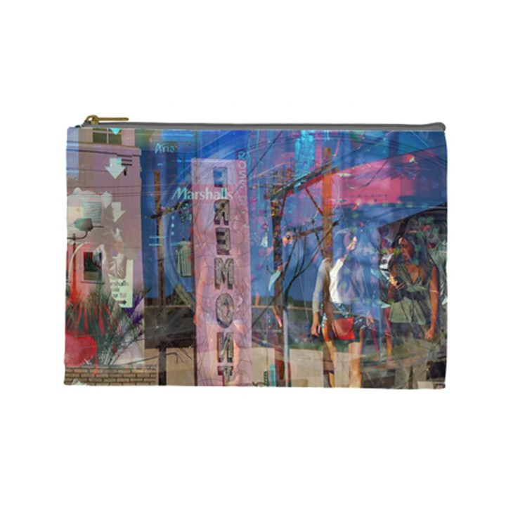Las Vegas Strip Walking Tour Cosmetic Bag (Large)