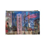 Las Vegas Strip Walking Tour Cosmetic Bag (Large)  Back