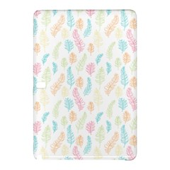 Whimsical Feather Pattern,Fresh Colors, Samsung Galaxy Tab Pro 12.2 Hardshell Case
