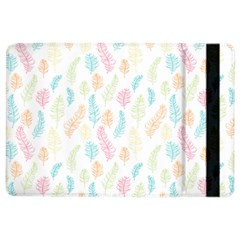 Whimsical Feather Pattern,fresh Colors, Apple Ipad Air 2 Flip Case