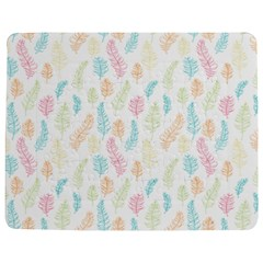 Whimsical Feather Pattern,Fresh Colors, Jigsaw Puzzle Photo Stand (Rectangular)