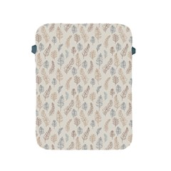Whimsical Feather Pattern, Nature Brown, Apple Ipad 2/3/4 Protective Soft Case