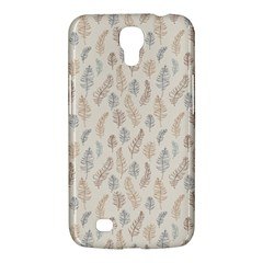 Whimsical Feather Pattern, Nature brown, Samsung Galaxy Mega 6.3  I9200 Hardshell Case