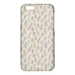 Whimsical Feather Pattern, Nature brown, iPhone 6/6S TPU Case