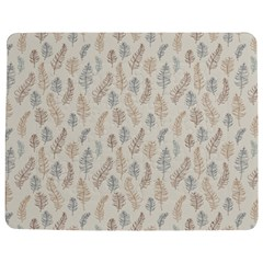 Whimsical Feather Pattern, Nature brown, Jigsaw Puzzle Photo Stand (Rectangular)