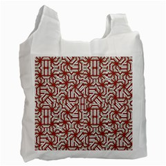 Interlace Tribal Print Recycle Bag (One Side)