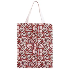 Interlace Tribal Print Classic Light Tote Bag