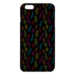 Whimsical Feather Pattern, Bright Pink Red Blue Green Yellow, Iphone 6 Plus/6s Plus Tpu Case