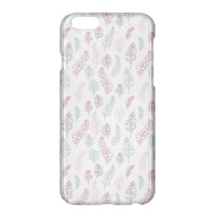 Whimsical Feather Pattern, Soft Colors, Apple Iphone 6 Plus/6s Plus Hardshell Case