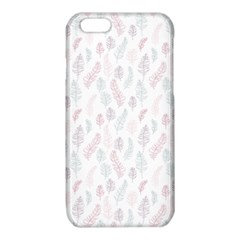 Whimsical Feather Pattern, soft colors, iPhone 6/6S TPU Case