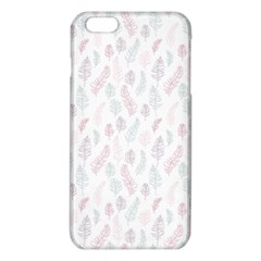 Whimsical Feather Pattern, Soft Colors, Iphone 6 Plus/6s Plus Tpu Case