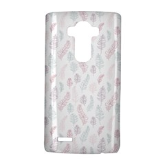 Whimsical Feather Pattern, soft colors, LG G4 Hardshell Case