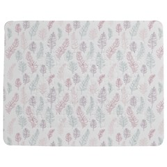 Whimsical Feather Pattern, Soft Colors, Jigsaw Puzzle Photo Stand (rectangular)