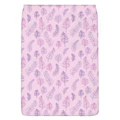 Whimsical Feather Pattern, pink & purple, Removable Flap Cover (S)