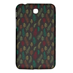 Whimsical Feather Pattern, autumn colors, Samsung Galaxy Tab 3 (7 ) P3200 Hardshell Case