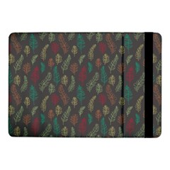 Whimsical Feather Pattern, autumn colors, Samsung Galaxy Tab Pro 10.1  Flip Case