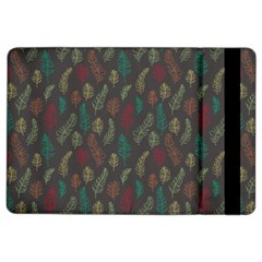 Whimsical Feather Pattern, autumn colors, Apple iPad Air 2 Flip Case