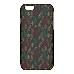 Whimsical Feather Pattern, autumn colors, iPhone 6/6S TPU Case